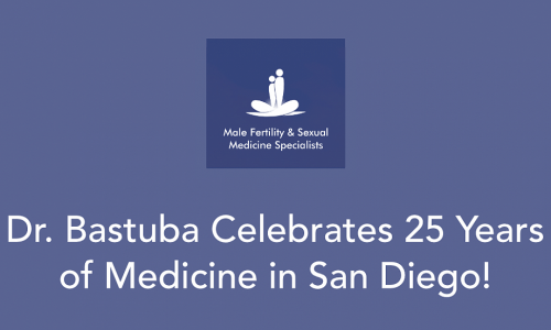 Dr. Martin Bastuba Celebrates 25 Years Practicing Medicine in San Diego