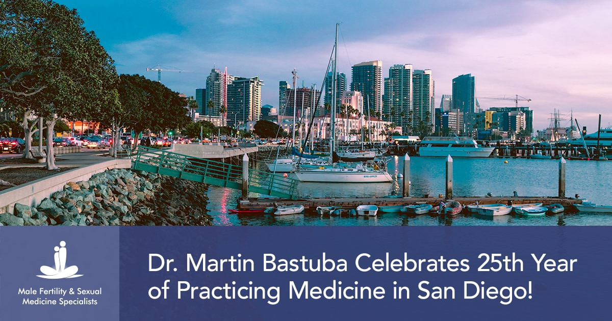Dr. Martin Bastuba Celebrates 25th Year of Practicing Medicine in San Diego